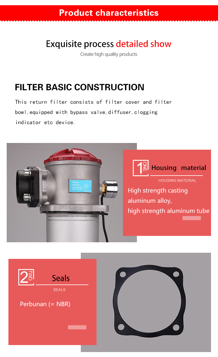 hydraulic filter bypass